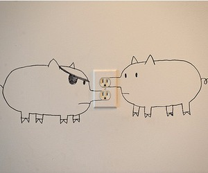 pig and funny image