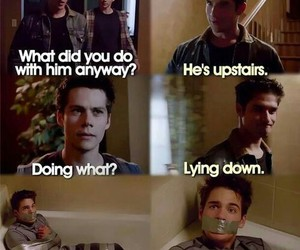 teen wolf, stiles stilinski, and tyler posey image