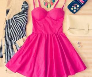 rosa, vestido, and amarlo image