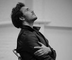 sam claflin, black and white, and actor image