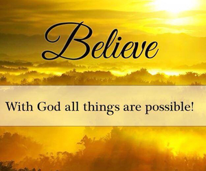 believe, clouds, and faith image