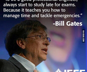bill gates and quote image