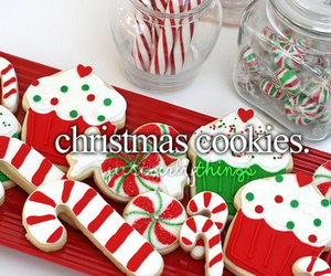 christmas, Cookies, and just girly things image