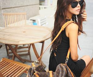 girl, fashion, and bag image