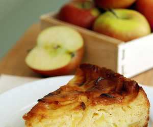 apples, food, and cake image