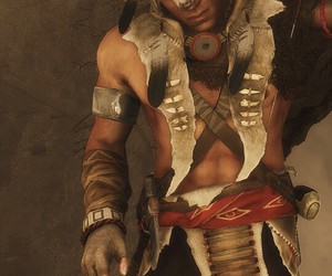 native american, wolf skin, and assassins creed 3 image