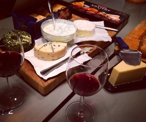 cheese, food, and luxury image