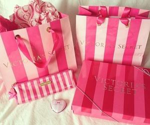 pink, Victoria's Secret, and vs image