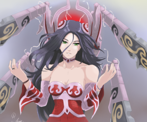 g, league of legends, and irelia image