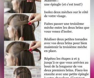 cheveux, tuto, and cheveux courts image