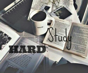 hard, school, and study hard image