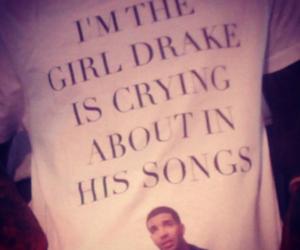 crush, crying, and Drake image