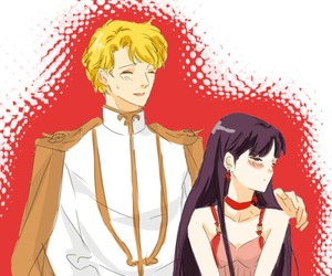 rei, sailor moon, and sailor mars image