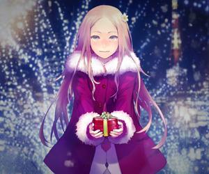 anime, christmas, and guilty crown image