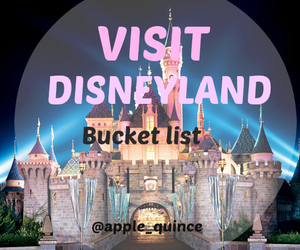 disneyland, Dream, and bucket list image