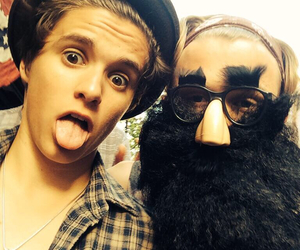the vamps and tristan evans image