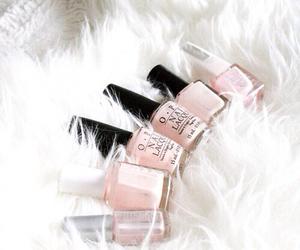 pink, nails, and opi image