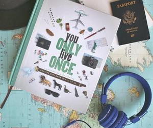 travel, music, and passport image