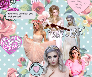 Collage, lonely hearts club, and marina & the diamonds image