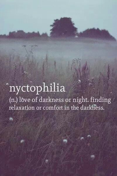 Nyctophilia Shared By Kenza On We Heart It