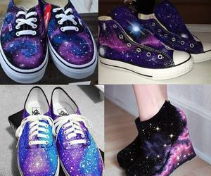 vans, galaxy, and shoes image