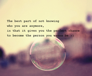 quote, bubble, and life image