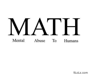 math, school, and quote image