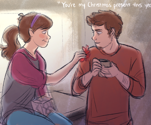 brothers, christmas, and pinecest image