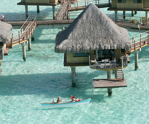 summer and bora bora image