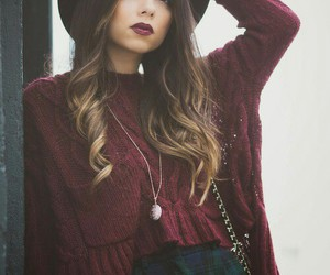 hat, fashion, and girl image