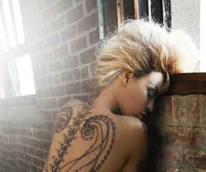 girl, tattoo, and beyoncé image