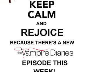 keep calm, Vampire Diaries, and the vampire diaries image