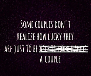 couples, life, and lucky image