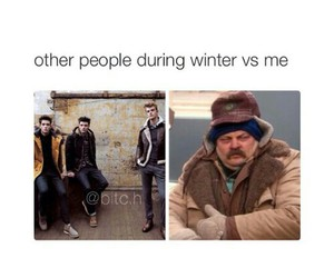 cold, vs, and hate it image