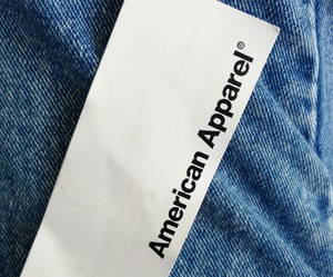 fashion, american apparel, and jeans image