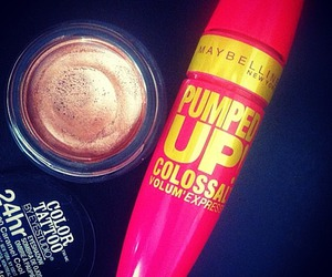 beauty, Maybelline, and cosmetics image