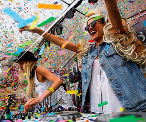 nervo, Tomorrowland, and party image