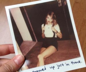 1989, Lyrics, and polaroid image
