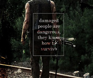 the walking dead, quotes, and twd image