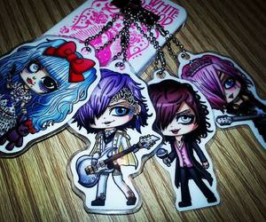 mia, chibis, and koichi image
