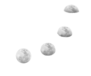 transparent, moon, and tumblr image