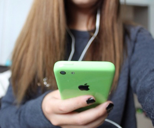 tumblr, iphone, and green image