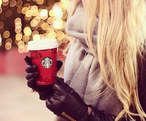 blonde, cold, and winter image