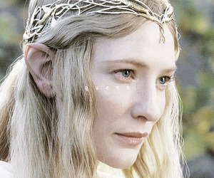 cate blanchett, the lord of the rings, and LOTR image