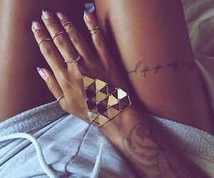 tattoo, love, and fashion image