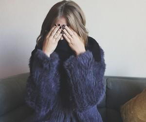 fashion, fur, and nicola peltz image
