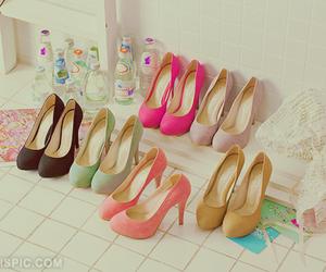 heels, kawaii, and love image