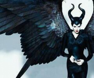 maleficent, disney, and Angelina Jolie image