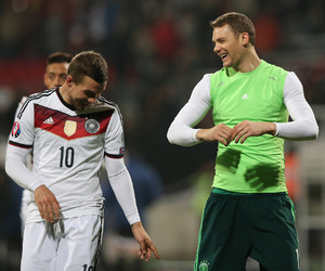 germany, manuel neuer, and lukas podolski image