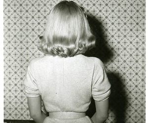 60's, girl, and hair image